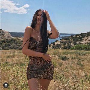 Mistress Rocks Leopard dress size S